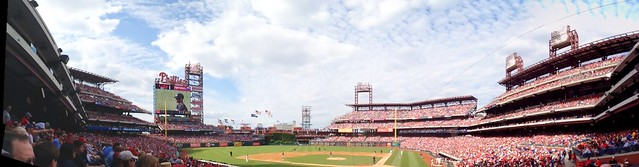 2nd phils game after everyone got there