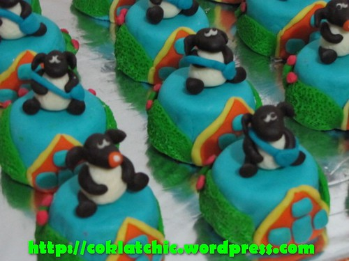 Cake Timmy Time Dan Minicake Timmy Time Renata Jual