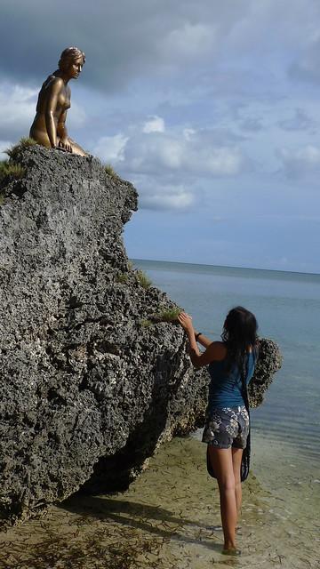 The Little Mermaid of the Danish Lagoon Resort