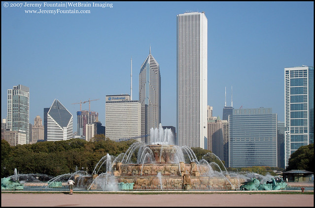 The Clarence Buckingham Memorial Fountain
