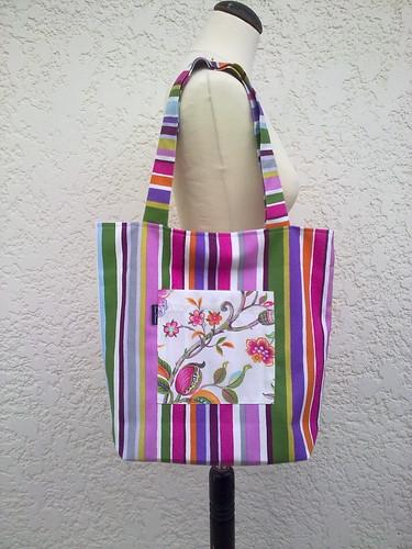 Bolsa prática para o seu dia a dia ou mesmo ir á praia by ♥Linhas Arrojadas Atelier de costura♥Sonyaxana