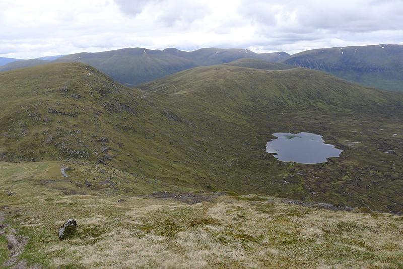 Aonach Beag hills and Lochan a' Bhealaich