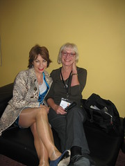 Kathy Lette and blogger Roberta Smith