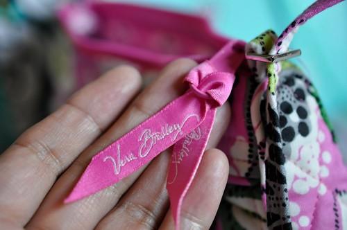 Vera Bradley ヴェラ・ブラッドリーPriscilla Pink  Frannie  フラニー