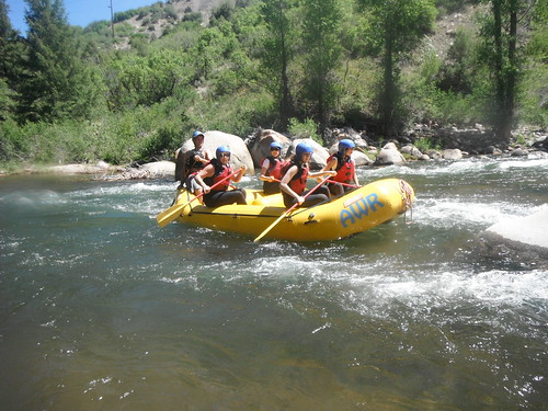 Aspen river rafting