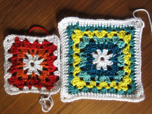 Granny Square Aghan Sampler - Week 4