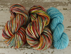 """Freedom Rainbow"" 8oz 3ply BBR Merino + 2oz trim"