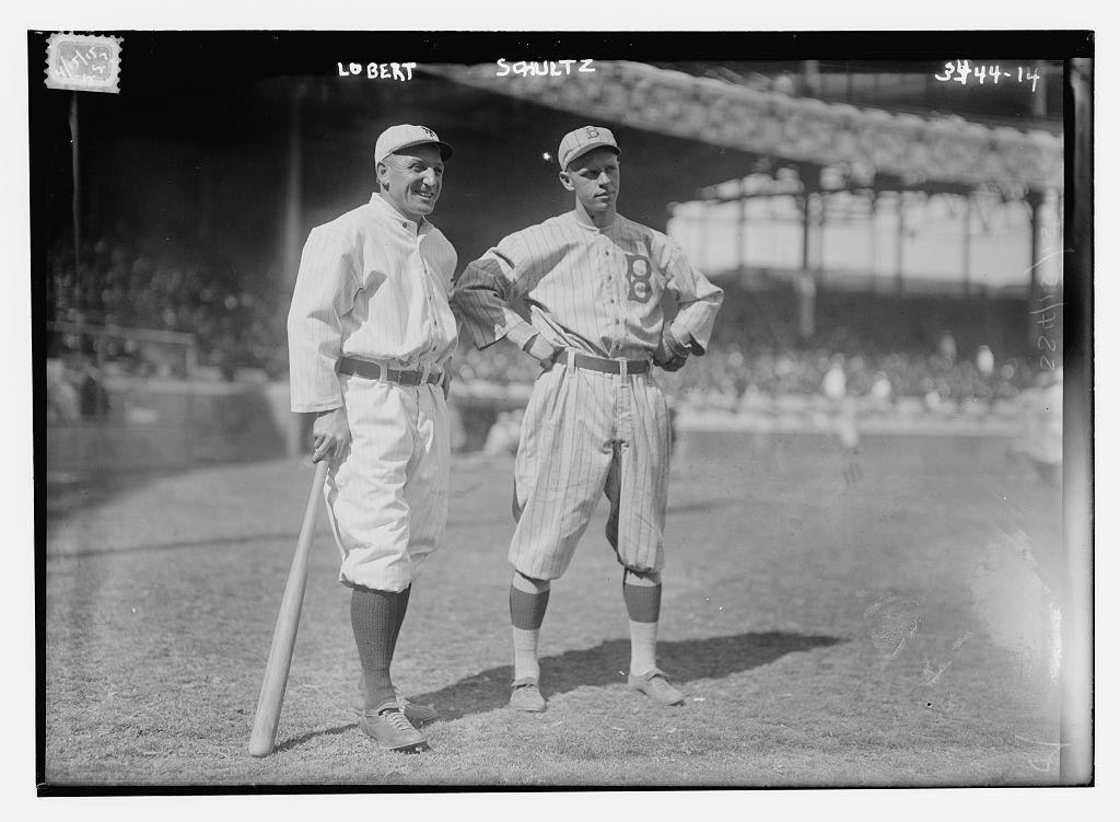 [Hans Lobert, New York NL & Joe Schultz, Brooklyn NL (baseball)]  (LOC)