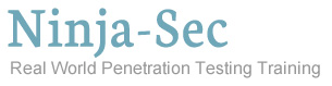 Ninja-Sec - Real World Penetration Testing Training