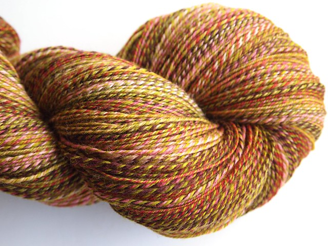 FCK-Old Rose & Leaf Eater, 3-ply, 654yds-Falkland
