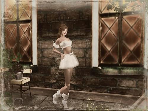 ASO! SpringFlowerBlouse&SkirtGG by Cherokeeh Asteria