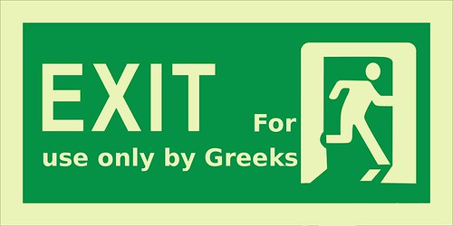 Greek exit from the Euro?