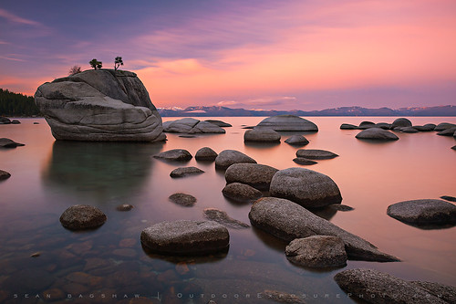 Water, Stone and Sky by Sean Bagshaw