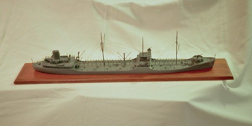 Completed Project - Van Ryper restored T2 Tanker model - Rex Stewart