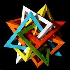 6 tetrahedra, Daniel Kwan, 4-fold view