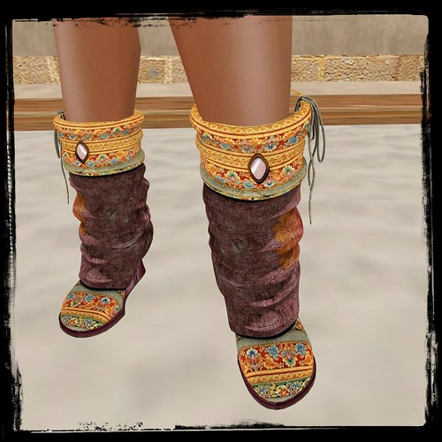 ALB CALIFORNIA DREAM boot GIFT resizable MESH by Analee Balut (free) by Cherokeeh Asteria