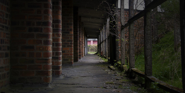 Edingham Munitions Factory Passageway