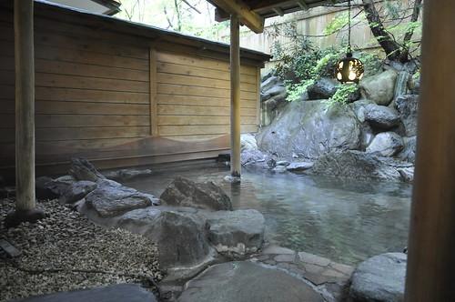 谷川温泉 旅館たにがわ 露天風呂