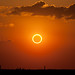 Perfect Ring of Fire - Annular Solar Eclipse by Kevin Baird