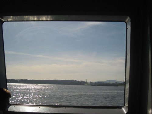 Seabus Window View