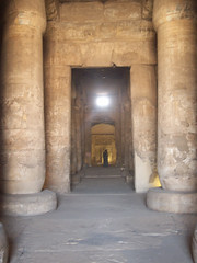 Hypostyle Halls of the Seti I Temple at Abydos (I)