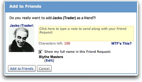 ADD TO FRIENDS by Colonel Flick