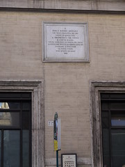 Photo of Percy Bysshe Shelley marble plaque