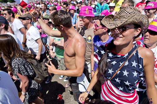 Pinkpop 2012 mashup foto - America, f*ck yeah!