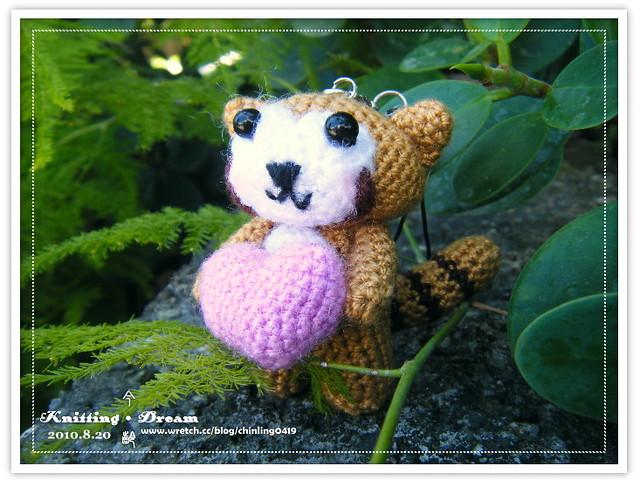 手持愛的浣熊3