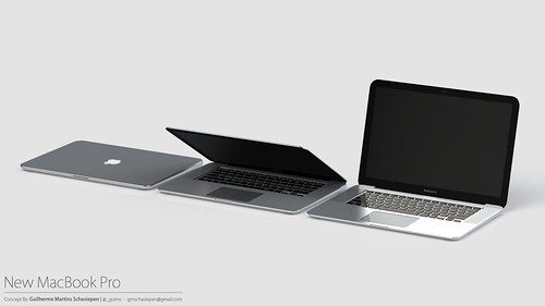 MacBook Pro 2012 Concept