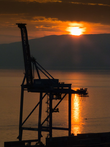 sea silhouette landscape mediterranean fiume croatia sunsets adriatic hrvatska rijeka kvarner mygearandme