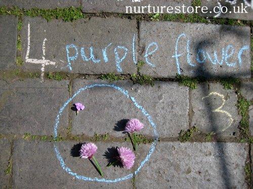 kids gardening activities chalk