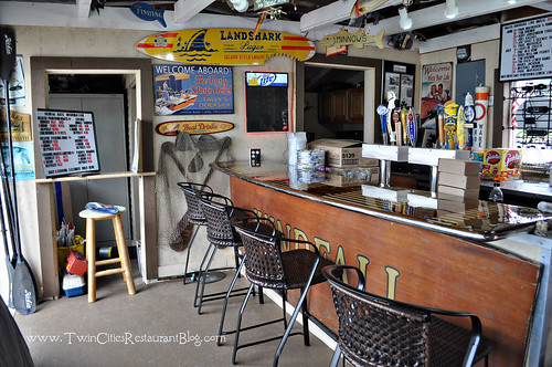 Inside Tally's Dockside ~ White Bear Lake, MN