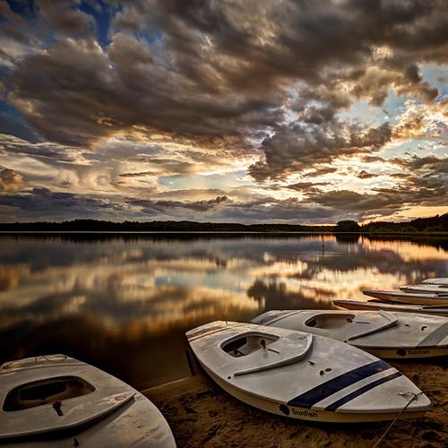 sunset usa clouds boat barca tramonto nuvole northcarolina raleigh lakecrabtree cary morrisville massimostrazzeri ziomamo gettyjun2012priv