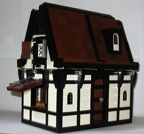 Lego Medieval House moc] medieval house - lego historic themes - eurobricks forums