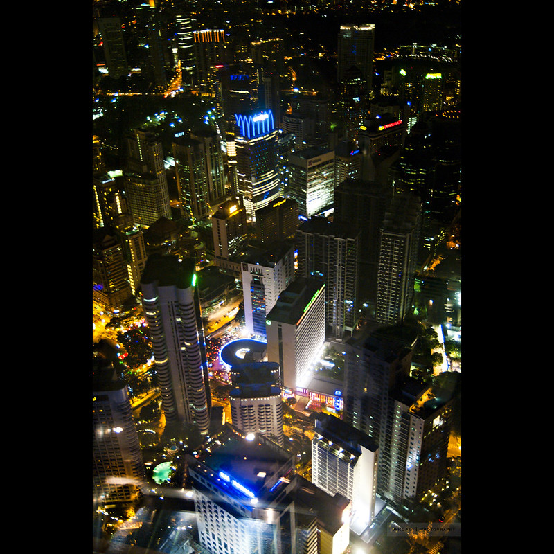 KL city from KL Tower #1