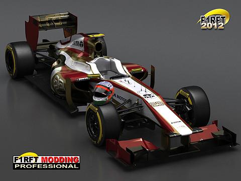 [rFactor] F1RFT 2012 Hispania Rendering 01 W480