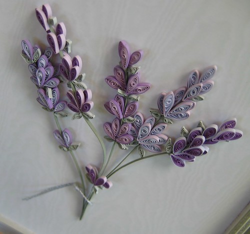 Quilled Lavender