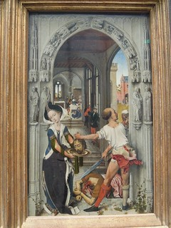 Saint John triptych, netherlandish master, ca. 1510, fragment
