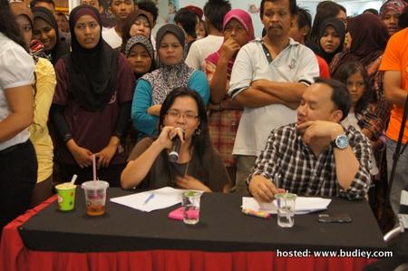 Juri jemputan, DCOO Suria FM & Yanie KRU