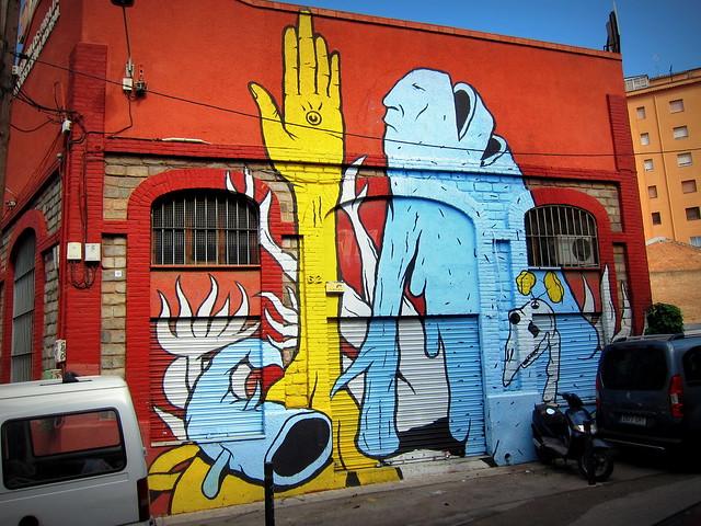 mural | barcelona 2012