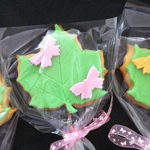 Yaprak kurabiyeler by l'atelier de ronitte