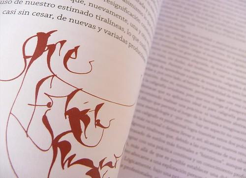 Colección visual de caligrafía - Silvia Cordero Vega