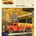 1945 Vintage Advert - Autocar Trucks