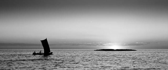 Retour de pêche Vezo, par Franck Vervial