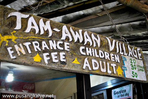 Tanaw-an Village entrance fee