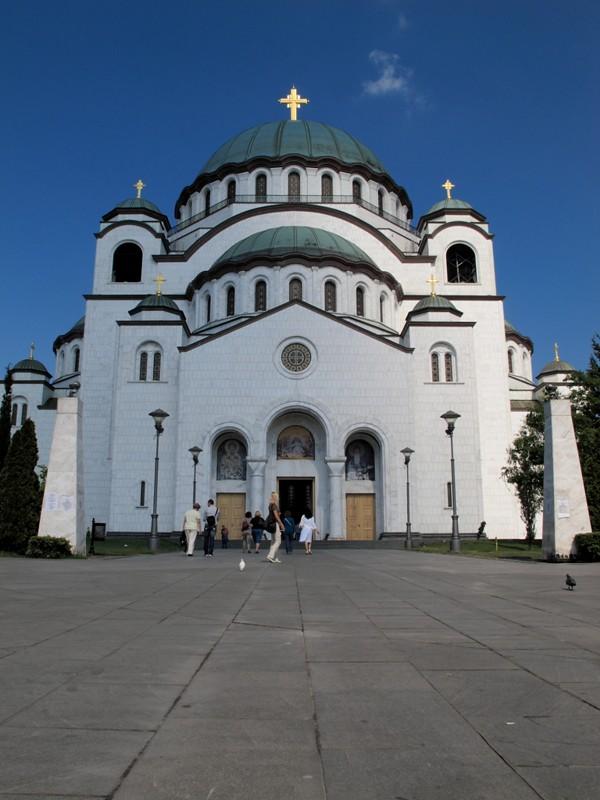 Cathédrale Saint Sava@Belgrade