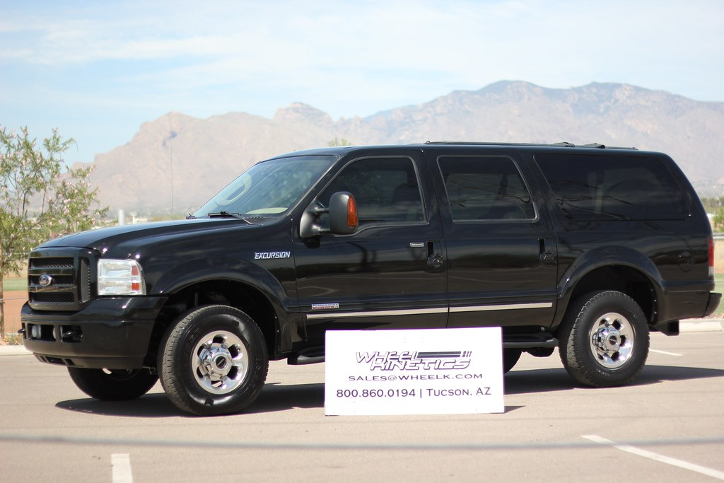 2005 ford excursion 4x4 diesel suv for sale. Black Bedroom Furniture Sets. Home Design Ideas