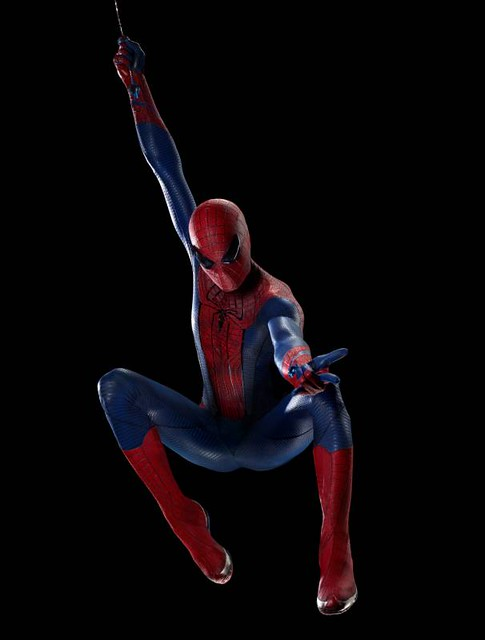 Swinging spider-man screensaver