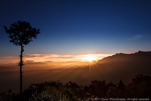 sunrise taiwan 台灣 chiayi 阿里山 alishan 嘉義 祝山 祝山日出 五奇
